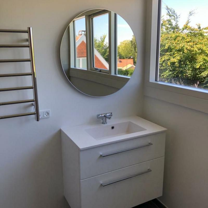 Murermester renoveret badeværelse vask